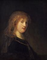 Saskia van Uylenburgh - Rembrandt van Rijn (Collectie the National Gallery of Washington, Washington)