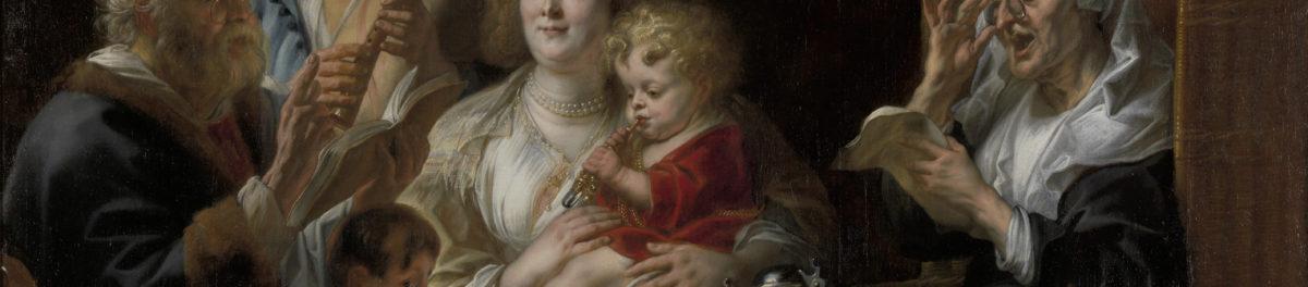 Jan Steen, 1625/1626 - 1679 Soo voer gesongen, soo na gepepen, c.1668 - 1670 Mauritshuis, Den Haag